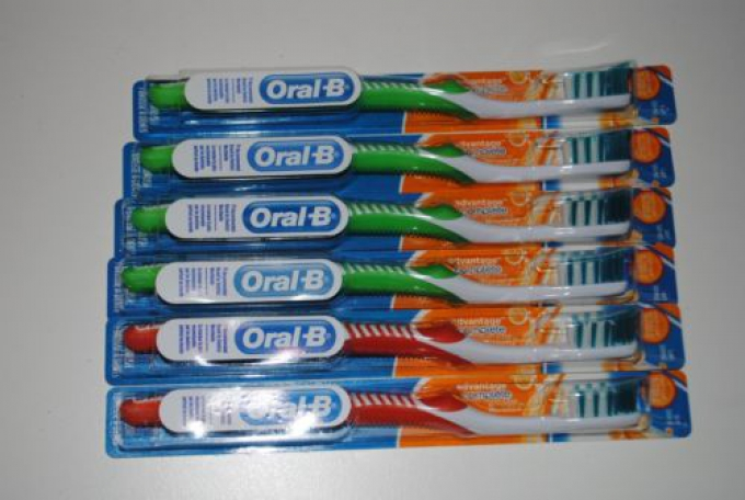 Free Giveaway: Oral-B Advantage Toothbrushes