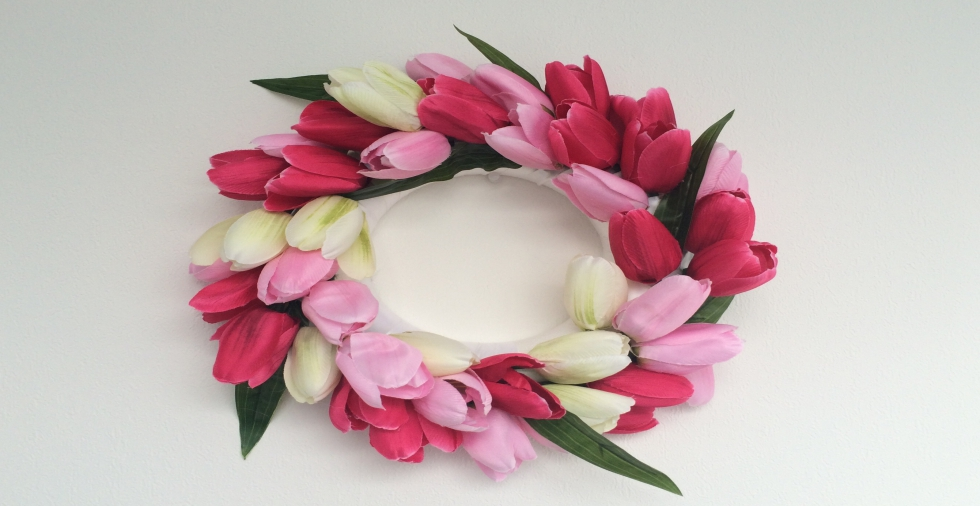 How to: Make a Tulip Wreath