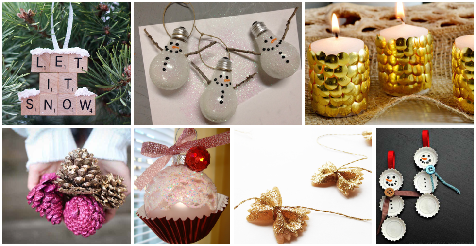 17 spectacular Christmas decorations that are cheap & easy to make