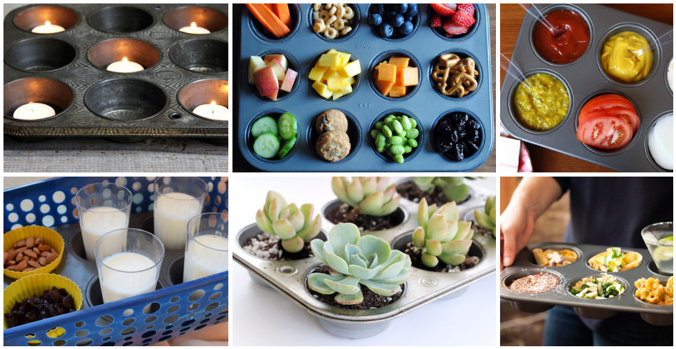 17 Incredibly Handy Uses For A Muffin Tin - WOW!