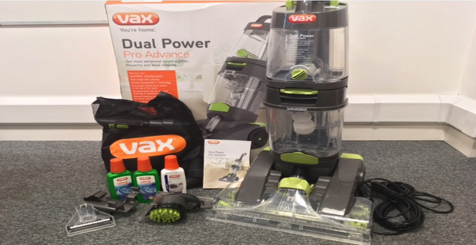 The Vax Dual Power Pro Advance - Carpet Cleaner Review