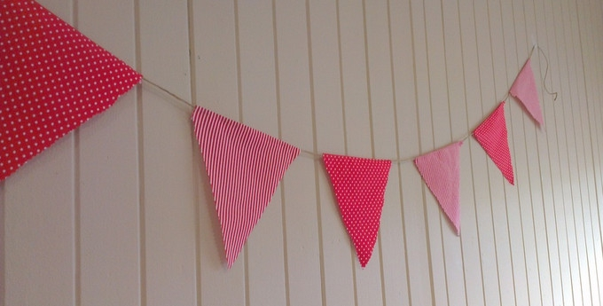 Everyone loves bunting!
