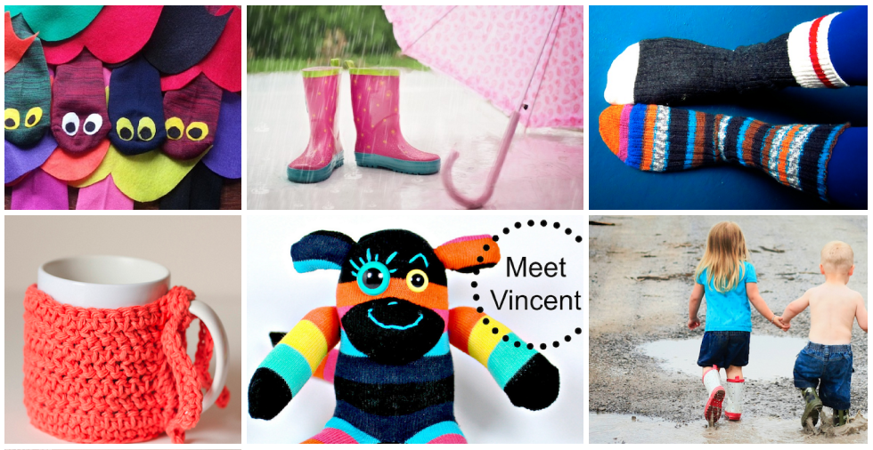 Odd socks & 18 wonderful ways to use them