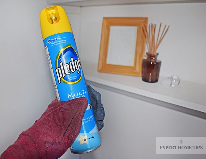 Cleaning with a sock