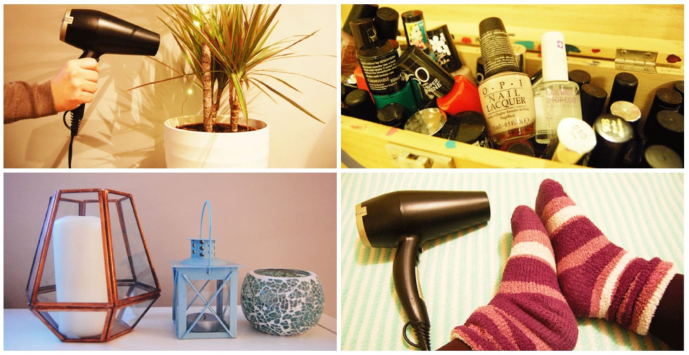 21 uses for a hair dryer that will blow your mind