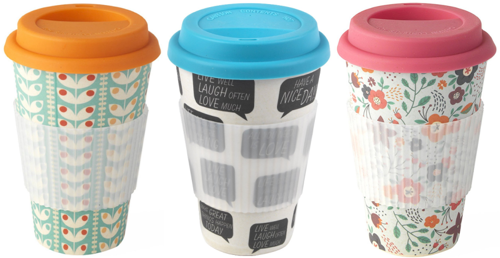 Free Giveaway: Retro Travel Mug