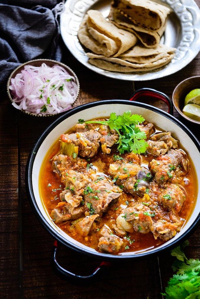 Peshawari Kadhai Gosht Curry