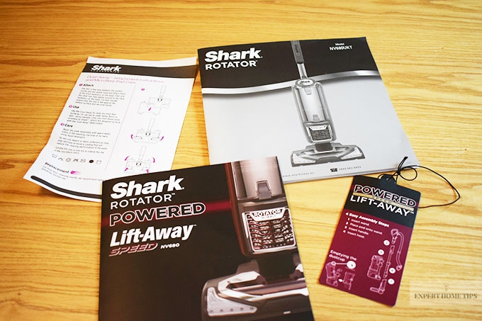Helpful Shark Rotator instruction booklets for you to look at.