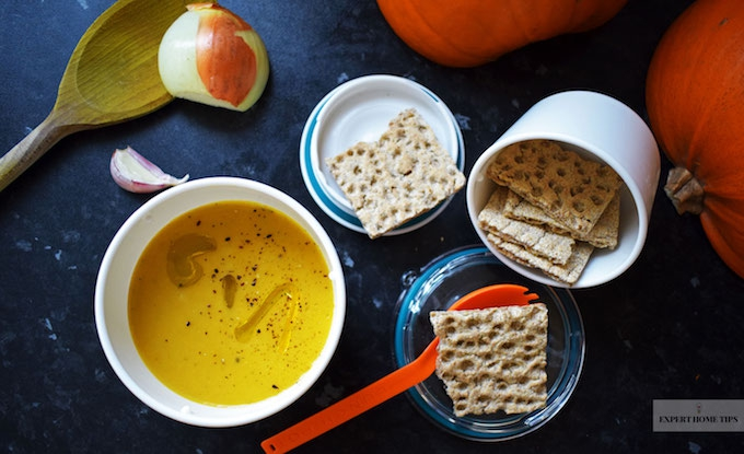 Meal prep - pumpkin soup