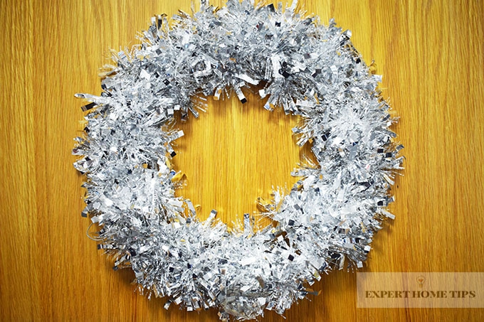 Wreath Taped