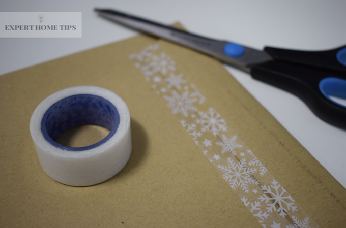 Decorative tape on Envelope