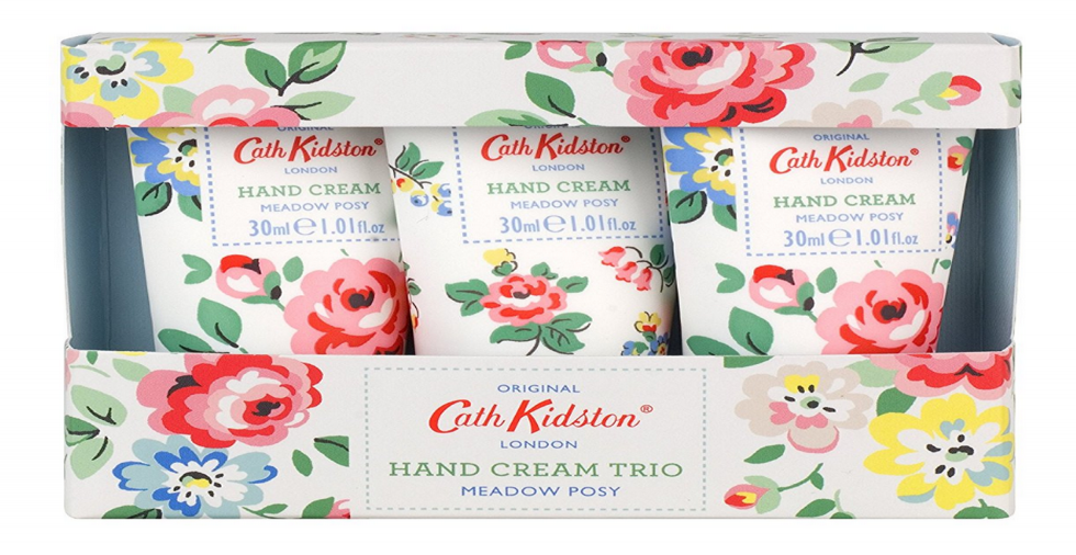 Free Giveaway: Cath Kidston Hand Cream Trio