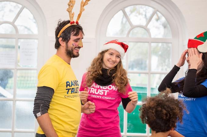 Rainbow Trust Children's Charity volunteers