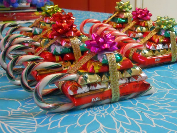 DIY Christmas Gifts Sweet Sleighs