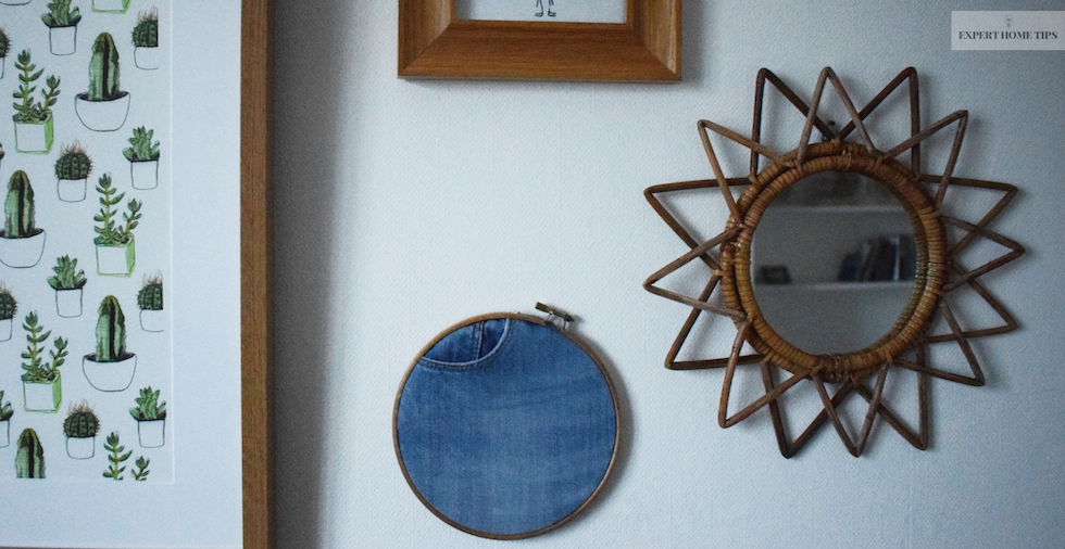 How To Upcycle Your Denim: Make A Super Easy Wall Hanging