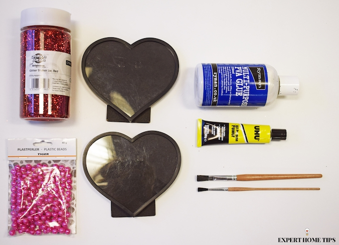 Valentine's DIY supplies