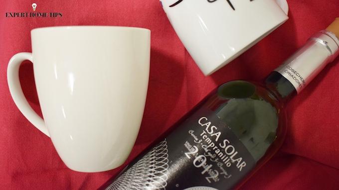 Wine in a mug