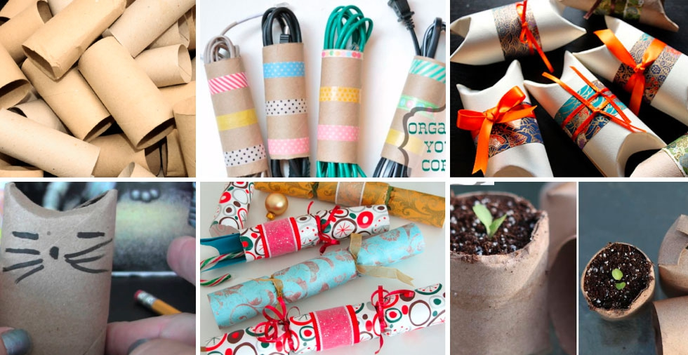 7 Pretty & Practical Uses For Toilet Roll Tubes