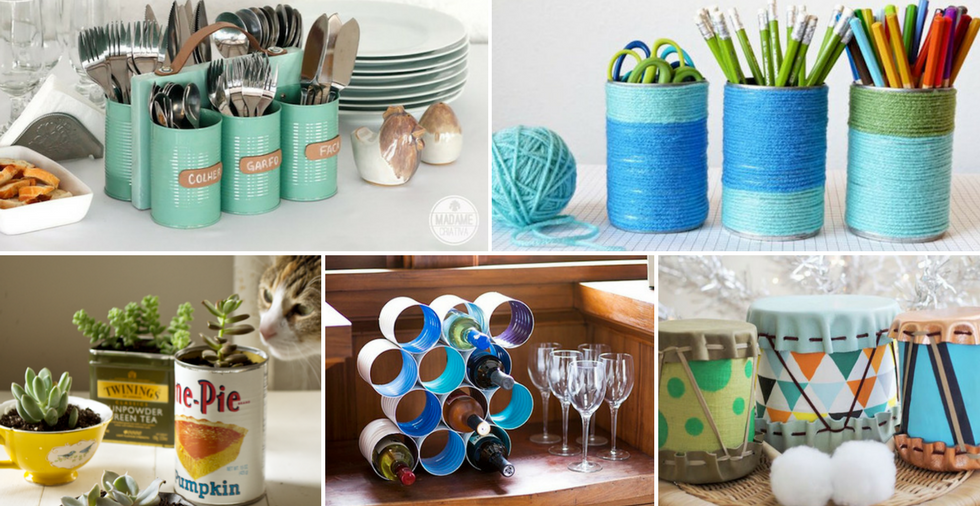 16 Sensational Ways To Upcycle Tin Cans (& Make Them Look GORGEOUS!)