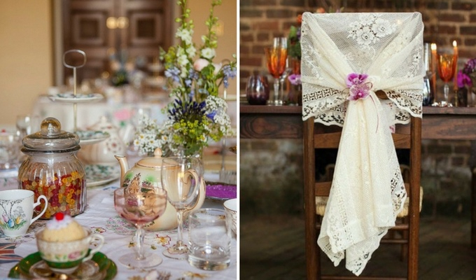 cheap vintage wedding decor
