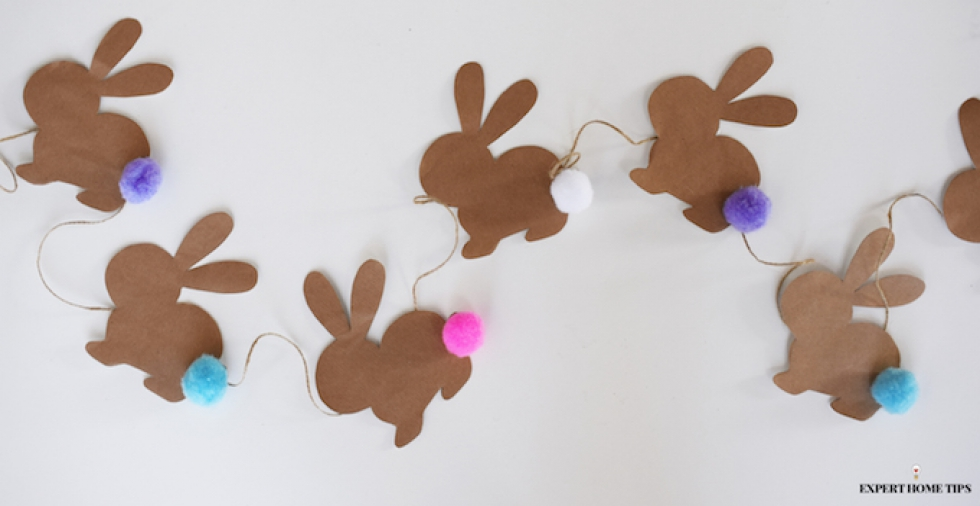 How to make the cutest DIY bunny bunting EVER