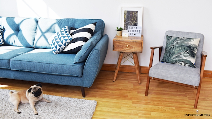 living room storage side table