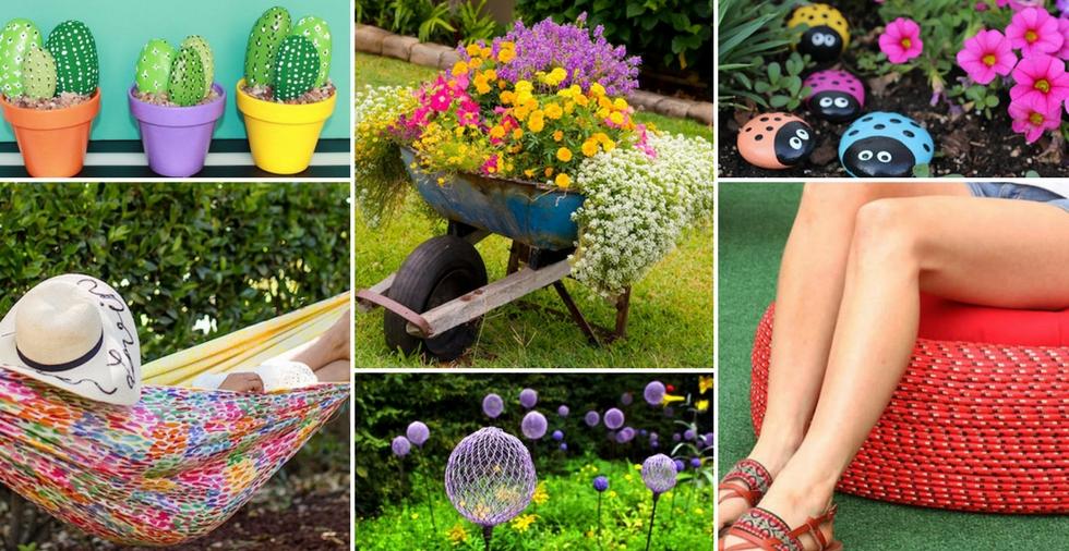 14 Easy & Cheap Ideas That'll TRANSFORM Your Garden