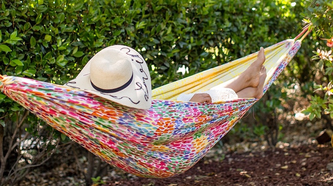 diy garden hammock