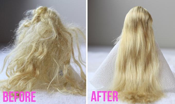 fix barbie hair amazing parent hack