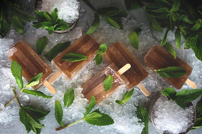 Alcoholic ice lolly recipe