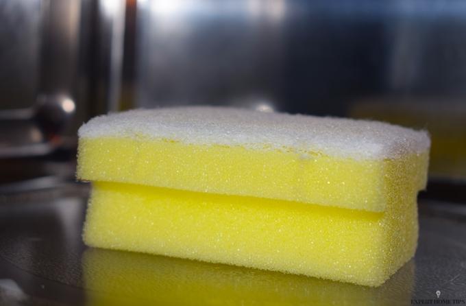 microwaving a sponge