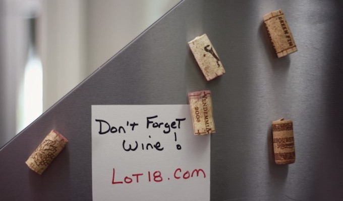 MAKE FRIDGE MAGNETS FROM WINE CORKS