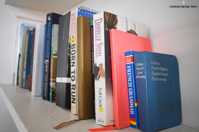 dusting books