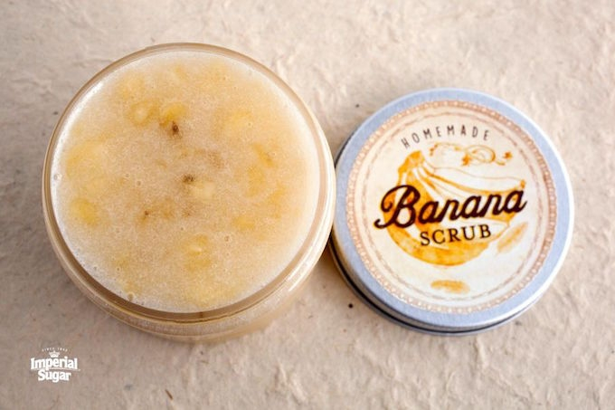 BANANA BODY SCRUB RECIPE