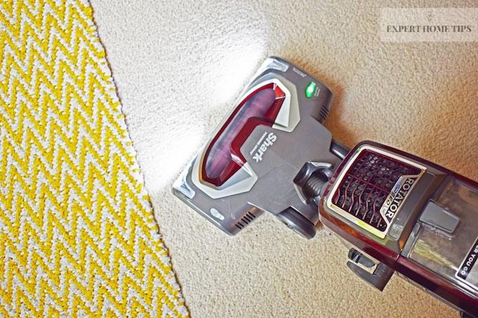 Shark Vacuum cleaner on carpet