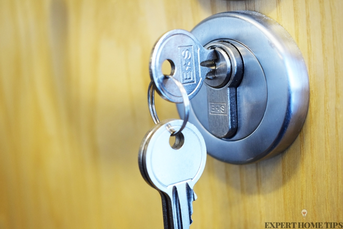 loosen stiff lock
