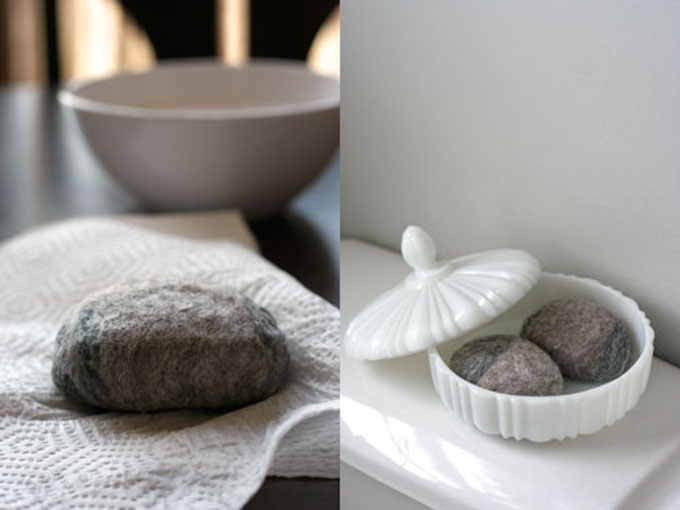 diy felted soap tutorial