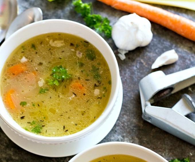 homemade chicken soup recipe