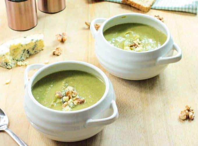 Soup recipe roundup: broccoli and stilton soup