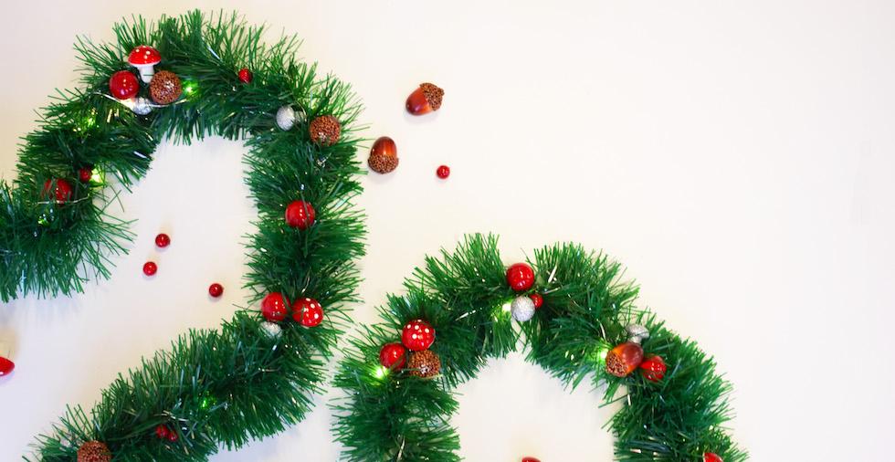 DIY Christmas Bunting Tutorial