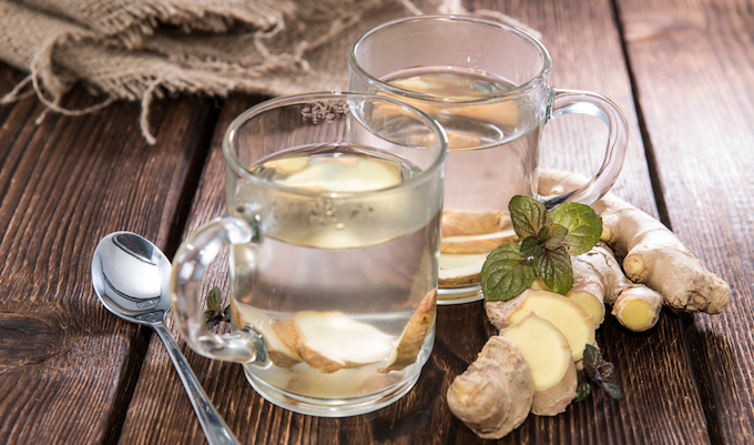 homemade ginger tea recipe