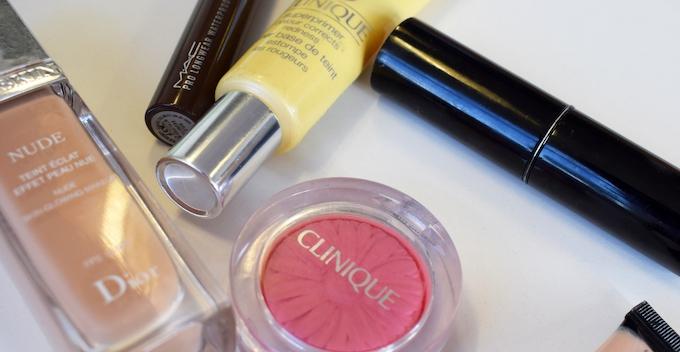makeup dior clinique chanel
