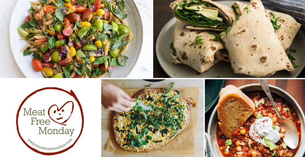 Meat Free Monday Recipes - 10 Of Our Favourites!