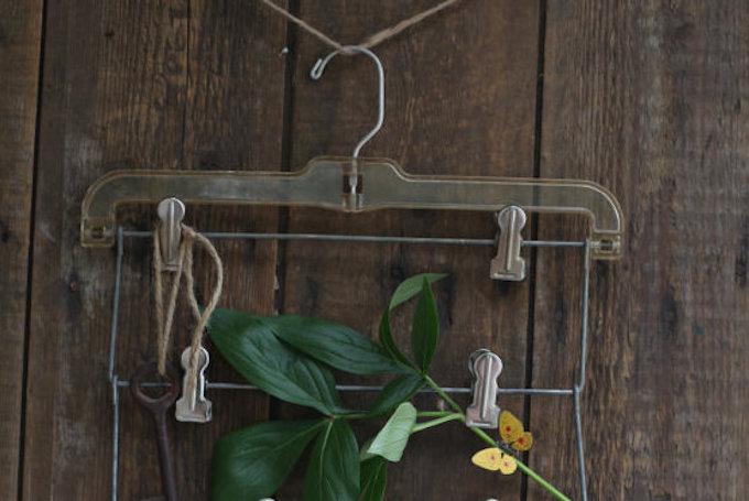 coat hanger wall display