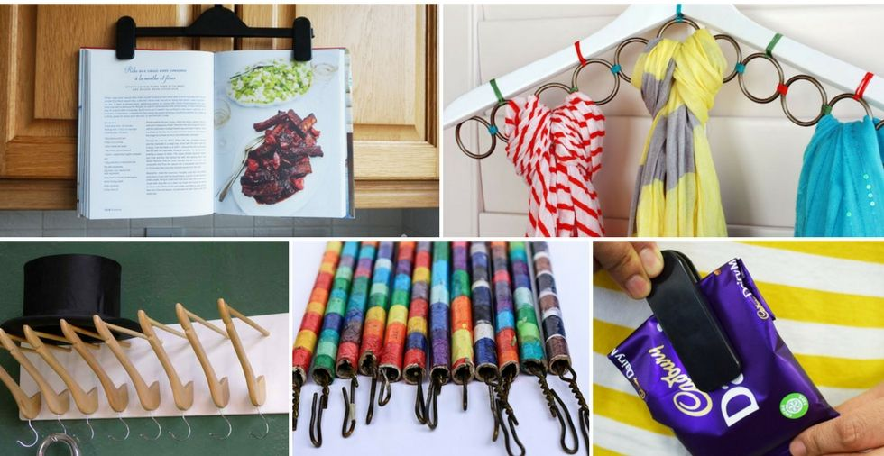28 Uses For Coat Hangers (You'll Wish You'd Known Earlier!)