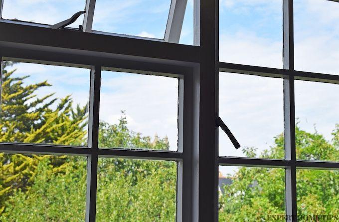 windows single glazed panelled