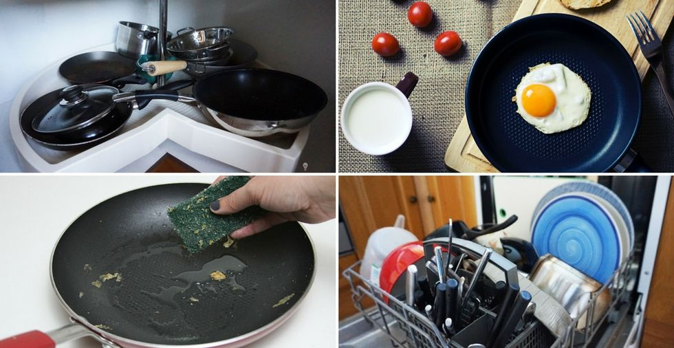 8 Ways You're Ruining Your Non-Stick Pans (Without Even Realising)