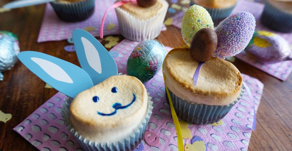 Easter Marshmallow Bunny Cupcakes Recipe