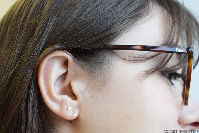 dior glasses brown hair