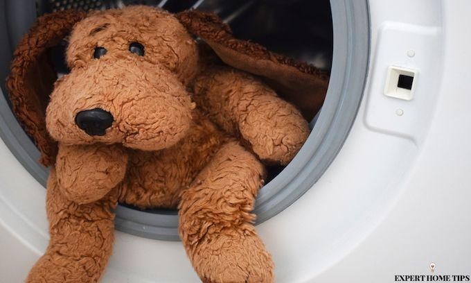 wash stuffed toys in washing machine